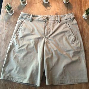Lululemon Khaki Dry Fit Shorts